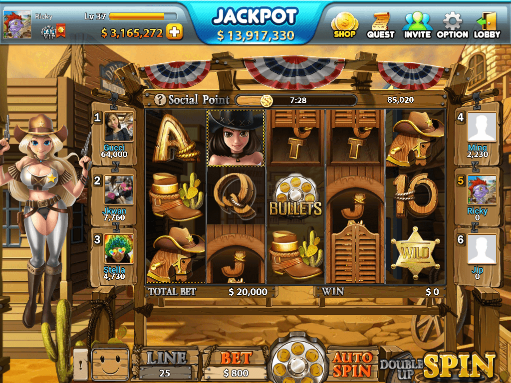 slot machine gratis wild west